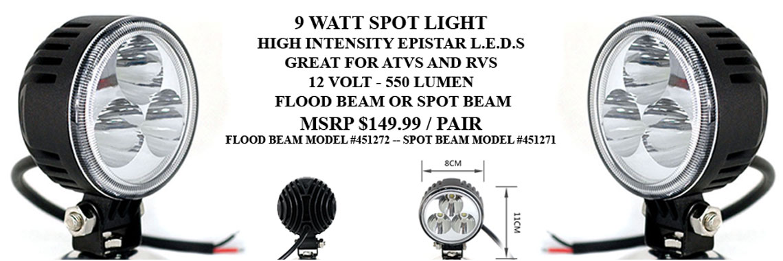 9 Watt Spot Light