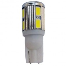 10 LED T10 Wedge Bulb Cool White