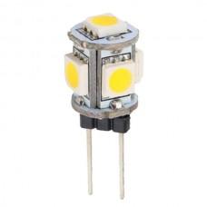 5-LED G4 Cool White Bulb