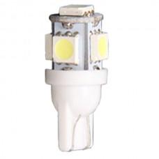 5 LED T10 Wedge Bulb