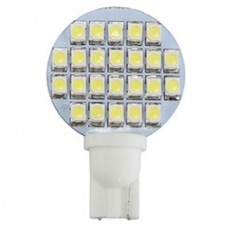 24 LED T10 Wedge Bulb Cool White