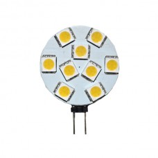 9-LED Round G4 Warm White Bulb