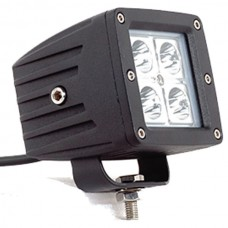 16 Watt Cube Light Flood Beam - Black